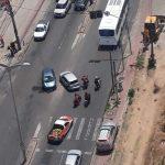 Policia prende três após perseguição no Bairro Serrinha Fortaleza