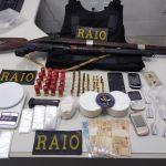 Policia de Iguatu apreende arma droga e prende três pessoas