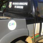 PM de Acopiara prende um dos suspeitos de incendiar ônibus em Saboeiro
