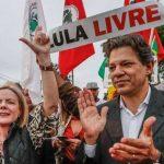 Ida de Gleisi a Venezuela gera discussão com Haddad