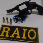 Raio de Mombaça apreende arma de fogo na zona rural