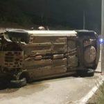 Mãe e filhas ficam feridas em acidente na CE-040, no Eusébio