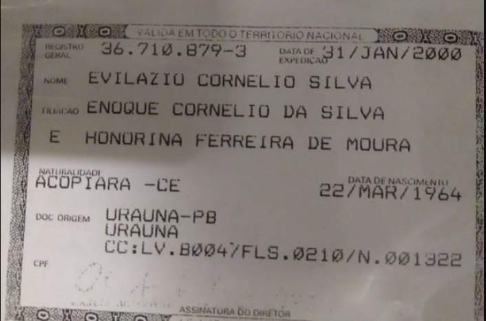 Jovem de São Paulo busca informações sobre parentes de seu pai em Acopiara