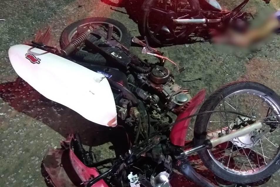 Urgente: Colisão frontal entre motos em Acopiara-CE