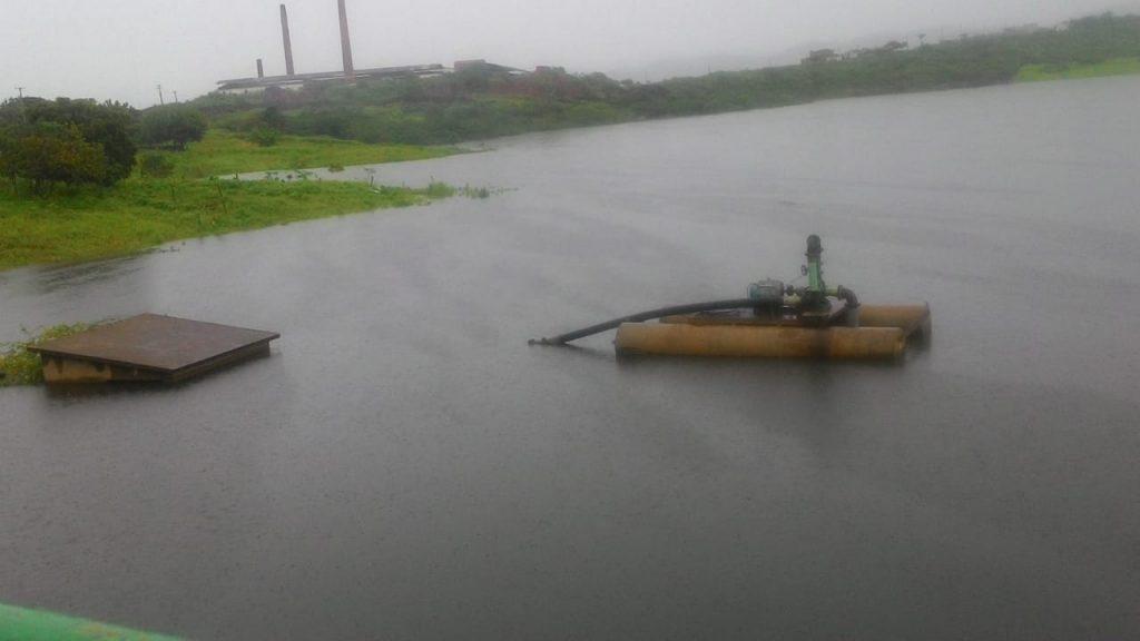 Barragem de Acopiara-CE a um metro e meio de transbordar